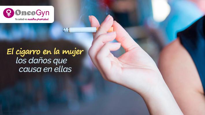 El cigarro en la mujer y los daños que causa en ellas