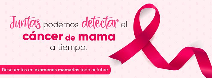 Cáncer de mama: Campaña Juntas podemos detectarlo a tiempo