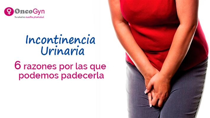 6 Razones por las que una mujer puede padecer de incontinencia urinaria