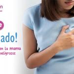 Los bultitos en la mama pueden ser peligros. ¡Cuidado!