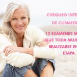 Chequeo Integral de Climaterio: 12 exámenes médicos que toda mujer debe realizarse en esta etapa
